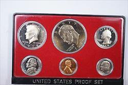 1974-S US Mint Clad Gem Proof Set 6 Beautiful Coins NO BOX NO FLAP NO COA