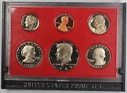 1980 US Mint Proof Set Beautiful GEM 6 Coins No Outer Box No COA
