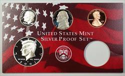 2001 U.S. Mint 4 Coin Partial Silver Proof Set NO BOX NO COA NO CASE