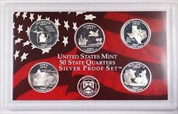 2004 US Mint Proof Silver Quarter Set Gem Coins In OGP w/ Box and COA