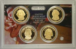 2007 United States Presidential Proof Set With Box and COA