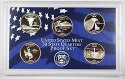 2007 United States State Quarters Proof Set GEM Coins NO Box NO COA