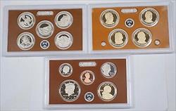 2012 U.S. Mint Clad Proof Set Gem Coins with Box & COA