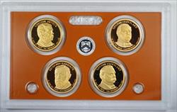 2012 United States Presidential Proof Set With Box and COA