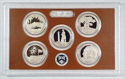 2013 United States America the Beautiful Quarters Proof Set 5 GEM Coins W/ COA