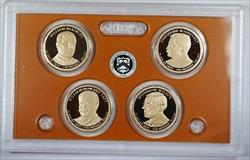 2013 United States Presidential Proof Set With Box and COA