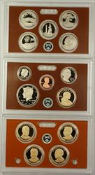 2013 US Mint 14 Coin Proof Set as Issued