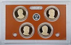 2014 United States Presidential Proof Set With Box and COA
