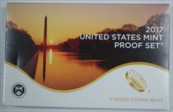 2017 US Full Proof Set Mint Issued 10 Gem Coins Total In Original Govt Packaging