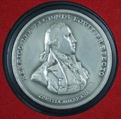 Colonel De Fleury America's First Medals- U.S.Mint Pewter w/Display Case