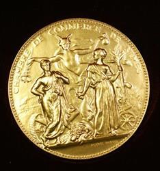 French Chambre De Commerce De Nimnes Brilliant Uncirculated Medal Original Box
