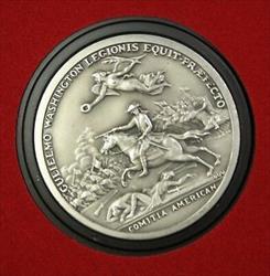 William Washington- America's First Medals- U.S.Mint Pewter w/Display Case