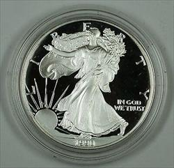 1990 Proof American Eagle    1 Troy Oz .999 Fine