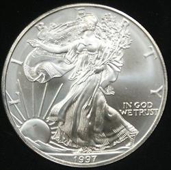 1997 American  Eagle ASE BU in Deluxe Case
