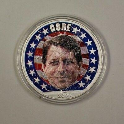 2000 US Al Gore Colorized American  Eagle  BU ASE $1 NO COA