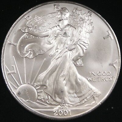 2001 American  Eagle ASE BU in Deluxe Case