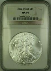 2002 American  Eagle $1  ASE NGC (16)