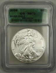 2004 1 Oz 999 American  Eagle ICG BU ASE
