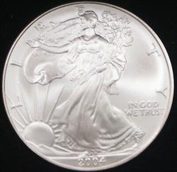 2004 American  Eagle ASE BU in Deluxe Case