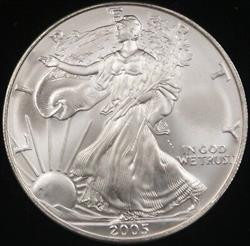 2005 American  Eagle ASE BU in Deluxe Case
