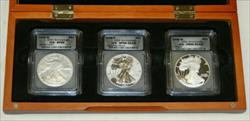 2006  Eagle 3  Set ICG 69 BU / Proof / Reverse Proof 20th Anniversary