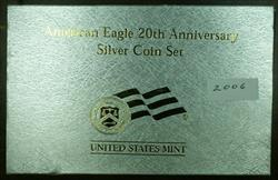 2006 W American  Eagle 20th Anniversary  Set 3  Set (PF MS RPF)