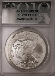 2010 American  Eagle ASE   Certified ANACS