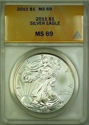 2011 American  Eagle ASE  $1  ANACS
