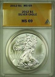 2012 American  Eagle ASE  $1  ANACS