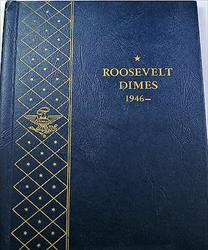 1946 1968 Roosevelt Dimes Complete  Uncirculated s Whitman 9115 (B)