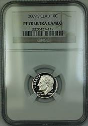 2009 S Proof Roosevelt Dime 10c NGC Ultra Cameo *PERFECT GEM COIN*