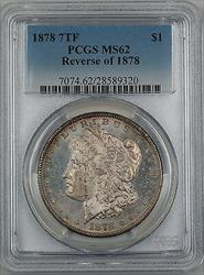 1878 7TF Reverse 1878 Morgan   $1 PCGS (Better  PL) GF