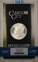 1878 CC GSA Hoard Morgan   $1  NGC Semi PL (A)