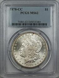 1878 CC Morgan    $1 PCGS (Better )