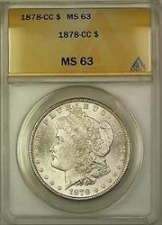 1878 CC Morgan   $1  ANACS