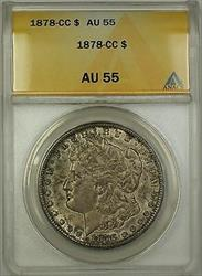 1878 CC Morgan   $1  ANACS Nice Original Toning