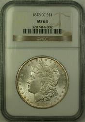 1878 CC Morgan   $1  NGC JAB
