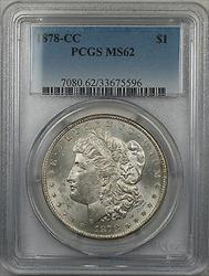 1878 CC Morgan   $1  PCGS (6)
