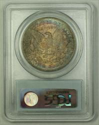 1878 CC Morgan   $1  PCGS Toned Great Color