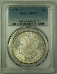 1878 CC Morgan   $1  PCGS Toned Reverse (20)