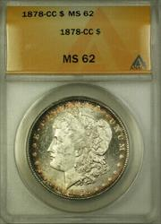 1878 CC Morgan   $1 ANACS Rim Toning (Better ) [BCX]