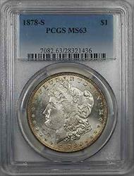1878 S Morgan    $1 PCGS (8L)