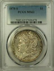 1878 S Morgan    PCGS Toned A (21)