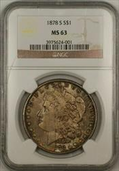 1878 S Morgan   $1  NGC Toned (Tb)