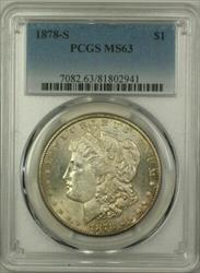 1878 S Morgan   $1  PCGS Toned (14)