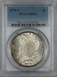 1878 S Morgan   $1  PCGS Toned (Ta)