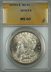 1878 S Morgan   $1 ANACS (Better ) Lightly Toned