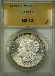 1878 S Morgan   $1 ANACS (Better ) RL