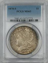 1878 S Morgan   $1 PCGS (Better ) (2A)