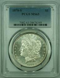 1878 S Morgan   S$1 PCGS (A) (26)